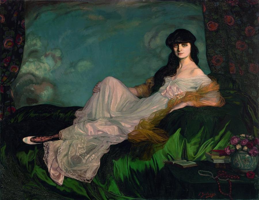 Retrato de la condesa Mathieu de Noailles, 1913