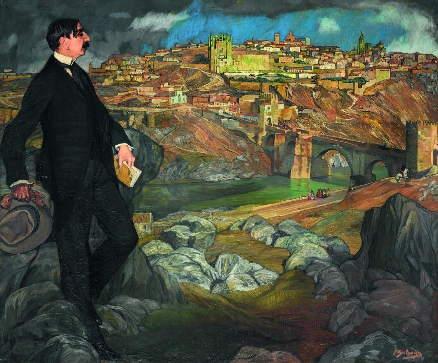 Retrato de Maurice Barrés, 1913