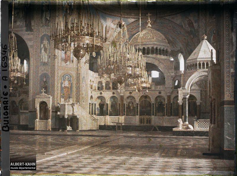 Bulgarie, Sophia, Intr de la Nouvelle Cathédrale