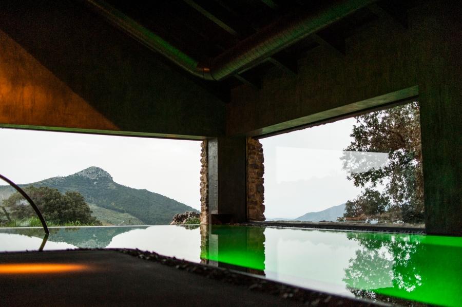 4. Spa, de la finca La Donaira en la sierra de Ronda