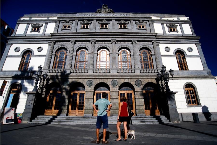W Teatro Pérez Galdós